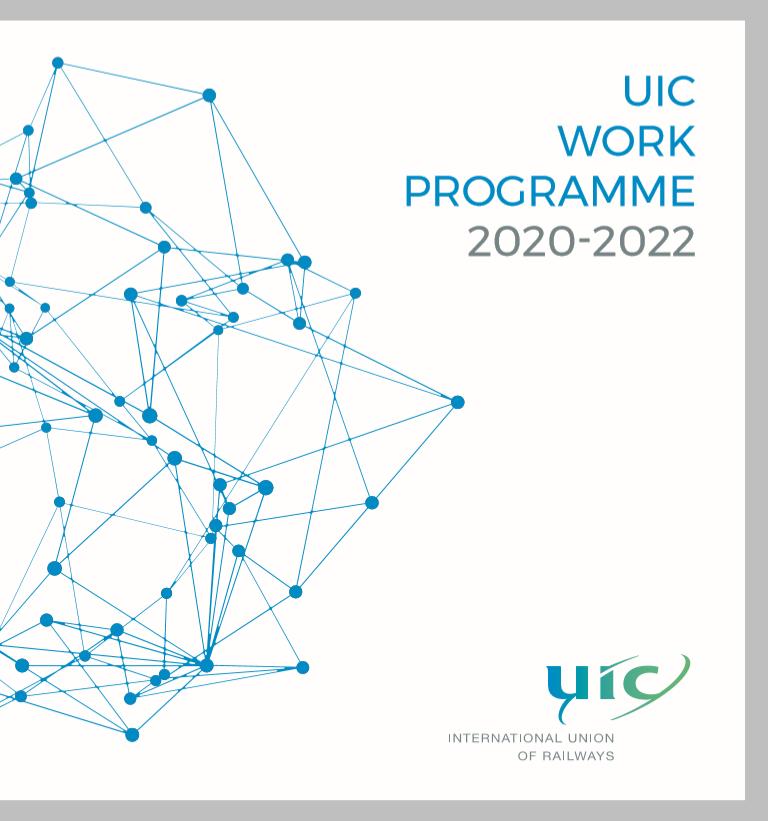 Uic Calendar 2022.Uic E News 683 17 March 2020